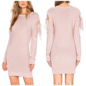 NWT Lovers Friends Ezra Tie Sweater Dress Revolve
